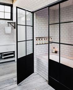 Bathroom inspiration for barn house bathroom
