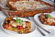 Vegan Lasagna with Lemon-Basil Cashew Cheeze