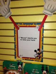 Mickey and his stache at Teacher's Helper http://shop.teachershelperstore.com/