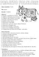 Ideias Escolares: Ideias Para o Folclore