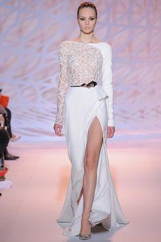 Sfilata Zuhair Murad Parigi - Alta Moda Autunno-Inverno 2014-15 - Vogue