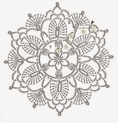 Centrinho+de+Croche+Gr.+Prose+Crochet.JPG 537×564 pixeles