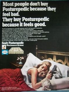 1969 Sealy Posturepedic Bed Mattress
