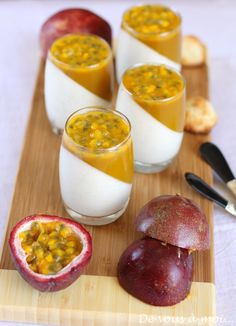 Panna Cotta Mangue Passion