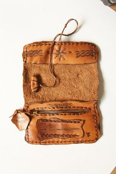 Handmade exclusive leather tobacco pouch. by TUMABROTHERS on Etsy