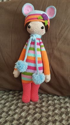 RADA the rat made by Verena M. G. G. / crochet pattern by lalylala