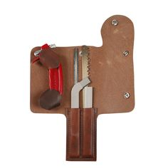 Wyoming Saw with leather case
