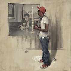 These Rockwell-esque illustrations are freaking RAD. by Sam Spratt.