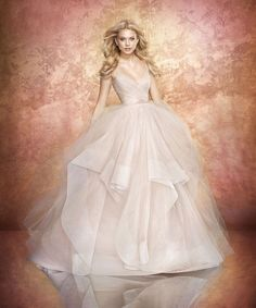 Hayley Paige- Style 6709 Chandon- Find gown @ De Ma Fille Bridal in Ft. Worth, TX. 817.921.2964, www.demafille.com