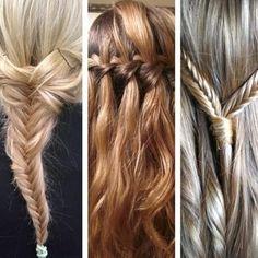New ways of hair braiding