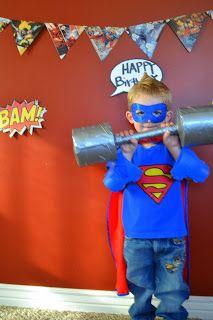 Talented Terrace Girls: Munchkin Monday: Superman Party