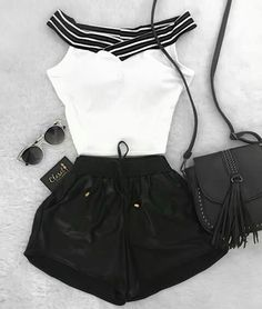 stylish clothes,newest fashion,hot new outfits,shop fashion Teen Fashion Outfits, Swag Outfits, Mode Outfits, Cute Fashion, Outfits For Teens, Girl Outfits, Womens Fashion, Fashion Clothes, Cute Summer Outfits