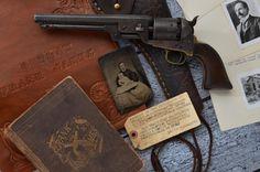 Frank James' Colt Navy Model 1851 Revolver