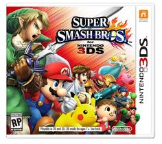 Super Smash Bros 3DS!!!!!!!! It's an awesome game!!!!! I really, really want it!!!!