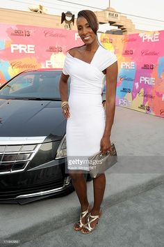 Former WNBA player Lisa Leslie attends Debra Lee's Pre-BET Awards Celebration Dinner at Milk Studios on June 29, 2013 in Los Angeles, California.  (Photo by Kevin Winter/BET/Getty Images for BET)