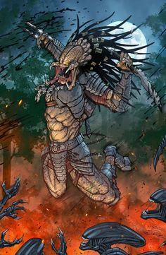Alien vs Predator- The Enemy of my Enemy... : Photo