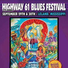Highway 61 blues festival   Leland, MS Sept 29 & 30, 2012
