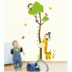 Vinilo decorativo infantil medidor 2