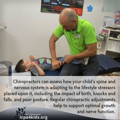 Regular chiropractic adjustments help to support optimal growth and nerve function. Bring your kids in for an adjustment today! Chiropractic Quotes, Family Chiropractic, Chiropractic Wellness, Chiropractic Benefits, Wellness Clinic, Pediatric Chiropractor, Chiropractic Adjustment, Nerves Function, Conscious Parenting