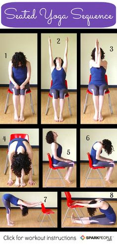 Seated Yoga Article read more at http://blackgirlsweightlossjourney.blogspot.com/2013/12/exploring-yoga-part-i.html