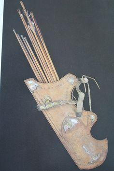 Carquois et flèches Turc Ottoman avec