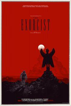 The Exorcist Mondo Poster by Phantom City Creative