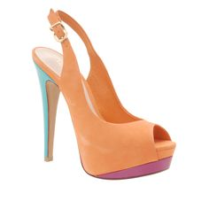 These killer multi-tone dress heels will be a sure hit when it comes to rocking a fashionable look that definitely stands out.