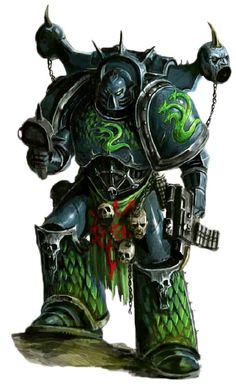 The Alpha Legion is the Chaos Space Marine Traitor Legion about whom the least is known. The Alpha Legion was once the XX Legion of Astartes created during the First Founding by the Emperor of Mankind to carry out his Great Crusade to reunite all of humanity in a new Golden Age under his rule. They are experts in infiltration and their armies contain many Chaos Cultists in addition to regular Chaos Space Marines.