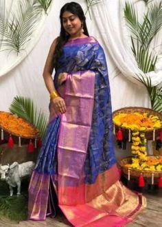 Sarees Online | Buy Sarees Online |@ ibuyfromindia.com Latest Silk Sarees, Art Silk Sarees, Silk Sarees With Price, Blue Saree, Silk Sarees Online, Traditional Sarees, Saree Dress, Printed Sarees, Saree Wedding