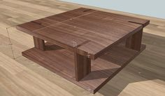 Through tenon modern tables - WOODWEB's Furniture Making Forum