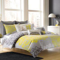 Dream by Blissliving® Home Modern Botanical Duvet Cover, 100% Cotton