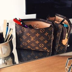 Carrying your desk accessories has never looked so good @louisvuitton #YorkdaleStyle