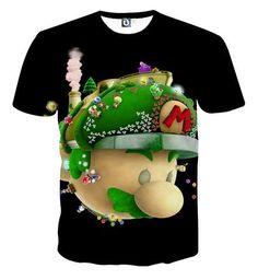 Super Mario Head Nintendo 3DS Gaming Design T-Shirt  #SuperMario #Head #Nintendo #3DS #Gaming #Design #T-Shirt