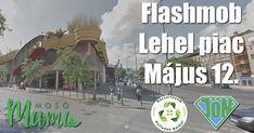 Vásárolj hulladék nélkül! címmel flashmobot avagy villámcsődületet szervez Tóth Andi és a JÖN Alapítvány abudapesti Lehel Piacra.