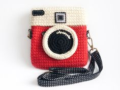 Crochet+Diana+Red+Purse+Size+6+inch+by+meemanan+on+Etsy,+$28.00