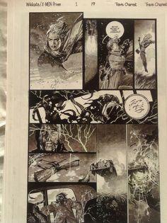 Travis Charest. pg 19 Comic Art