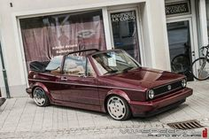 Volkswagen Golf 1 Cabrio Wallpaper #16