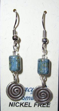Nickel Free Earrings, Drop Earrings, Personalized Items, Jewelry, Jewlery, Jewerly, Schmuck, Drop Earring, Jewels