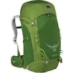 31161e2f5f64 Osprey Ace 75 Youth Internal Frame Backpack - specially designed to  accommodate younger outdoor enthusiasts ages