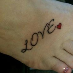 Maybe on my left foot since my right is covered.