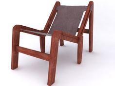 Cadeira 6pernas. #3dsmax