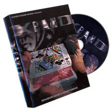 Xpand (Props and DVD) by Christyrious, Brandon David, and Paper Crane Productions - DVD