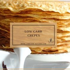 Quick and easy Keto or Low Carb Crepes Gluten Free Diabetic Paleo not only for Breakfast. The post Low Carb Crepes appeared first on ketorecipes. Low Carb Wraps, Low Carb Desserts, Low Carb Recipes, Diet Recipes, Ketogenic Recipes, Ketogenic Diet, Comida Keto, Keto Pancakes, Low Carb Breakfast