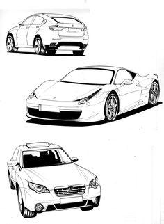 자동차 - Google 검색  정면과 후면을 보여주고있어서 자동차스케치를 할때 여러방면에서 참고하기 좋은 자료가 될것같다. 두번째는 곡선이 많이 사용돼서 얇아보이고 날렵해보이는점이 맘에든다