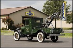 1927 Chevrolet Wrecker 1 Ton Maintenance of old vehicles: the material for new cogs/casters/gears/pads could be cast polyamide which I (Cast polyamide) can produce