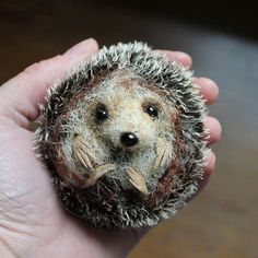 Hedgehog Pdf sewing pattern/ needle felting door EmmaHallArt, £12.00