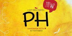 PH™ - Webfont & Desktop font « MyFonts