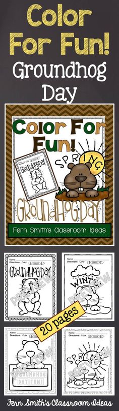 What Is Groundhog Day? {A Holiday Reader for Primary Students ...