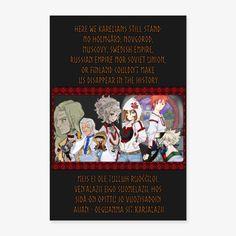 Sarjičča-ateljie Kuutamo | we are karelians - Juliste 20x30 cm Still Standing, Sissi, Soviet Union, Small Towns, Finland, Empire, Indie, Manga, History