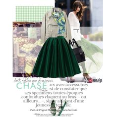 All Shades Of Green by acherontiatropos on Polyvore featuring polyvore, fashion, style, Chicwish, Toga, Gucci and Acne Studios